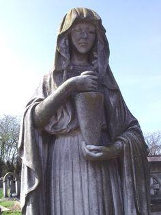 stun statuari, tombston, london, stone, cemeteri explor