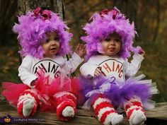 Girly Thing 1 and Thing 2 Costume