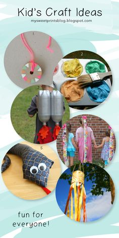 My Sweet Prints: Kids Craft Ideas for the Long Weekend and School Holidays