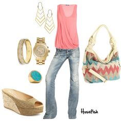 zig zag, purs, cloth, color, bag, outfit, closet, shoe, shirt