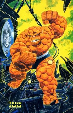 The Thing by George Perez