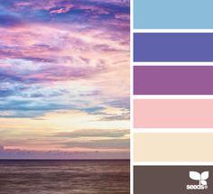horizon hues. beautiful and relaxing.