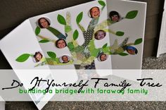 DIY Family Tree | Building a Bridge With Faraway Family | Baby Gizmo Blogs