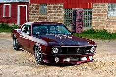 "Custom Ford Mustang 1970,by RINGBROTHERS ""Dragon"""