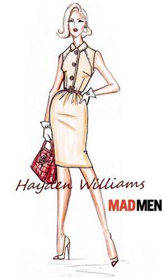 Hayden Williams for Mad Men collection: Design #5