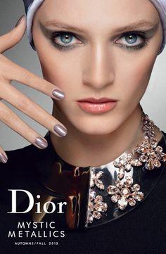 Dior Mystic Metallics Fall 2013 Collection. makeup