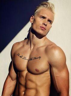 Slovakian model Martin Chylo by photographer Lucas Kimlicka