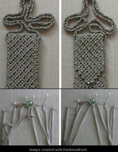 more macrame resources - detailed photo tutorial