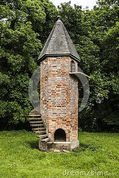 Folly, a goat tower