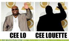 """""""Cee Lo, Sweet Chariot..."""""""