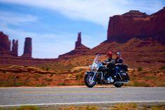 biker men on road