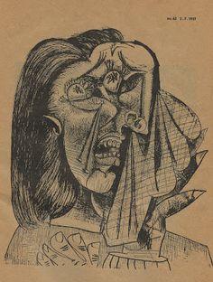 Picasso, Sketch for Guernica