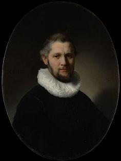 Portrait of a Man Rembrandt (Rembrandt van Rijn)  (Dutch, Leiden 1606–1669 Amsterdam) Date: 1632 Medium: Oil on wood