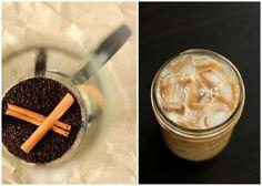 sweet cinnamon iced coffee