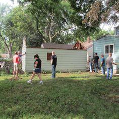Transformed Backyard Workshop
