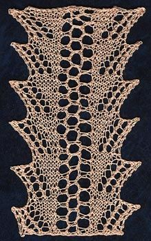 Knitted edge // Pattern 3