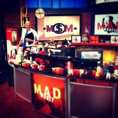 Behind the scenes on the set of @MadMoneyOnCNBC with Jim Cramer! #madmoney #cnbc