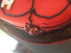 Spiderman cake by Amy Stafford
