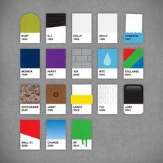graphic design, chips, diari, behance, colors