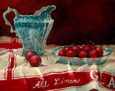 's All About Red Photograph - Its All About Red Fine Art Print - Rosemary Loveland