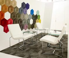Is it floor covering, or is it art? Lume e Lustro sets the stage for inspiring conversations at #NeoCon14, showroom 11-1149. #NeoConograhy #IDNeoCon