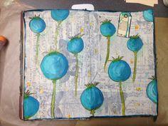 www.inkyobsessions.blogspot.com    antique ledger for art journal