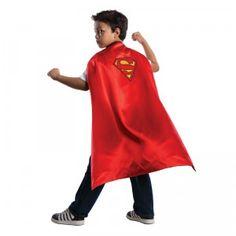Batman & Superman Reversible Super Hero Cape