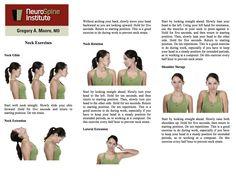 Neck pain relief on Pinterest | Neck Exercises, Neck Pain ...