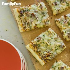 Easy Pizza Dough: A food processor takes the effort out of making this perennial kid favorite. Try it with our recipe for Chicken, Bacon, and Parm Pizza or simply top with your family's favorite ingredients.