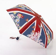 Union Jack garden umbrella