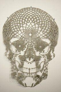 Crochet Filet Skull