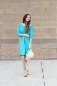 DIY: oversized tee shirt dress