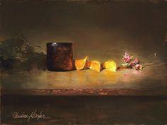David's Glass by Christine Hooker Oil ~ 9 x 12