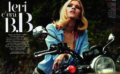 visual optimism; daily fashion fix.: linnea groendahl and svetlana kuznetsova by emmanuele delrio for vanity fair italia no.30 1st august 2012