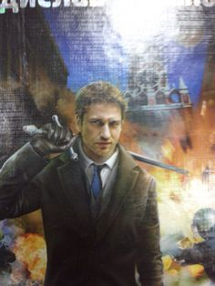 This is really cool.  I found it on the Gerard Butler Russian Fan Site.   They think it is an advertisement but not sure from where.