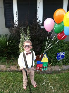 Last-Minute Mr. Fredrickson Costume from the Movie Up... This website is the Pinterest of costumes