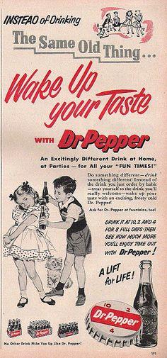 Vintage Dr. Pepper