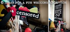 Fun #wedding #reception #ideas to keep your guests having fun!