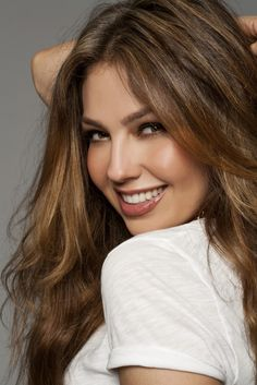 Thalia.... Tommy Mottola's wife, after Mariah Carey......Mexican actress