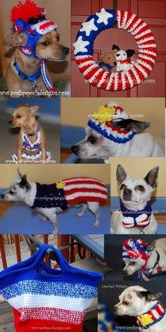 Posh Pooch Designs Dog Clothes: Let's Get Patriotic