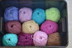 Mijn kleurtjes voor de deken