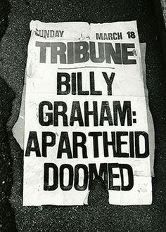 Billy Graham, Nelson Mandela United by Apartheid Opposition
