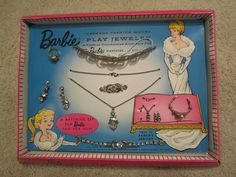 Clienman play jewelry set. Rare and hard to find.