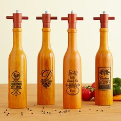 Designer Peppermills - personalized #giftidea
