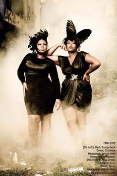 Plus size models as seen in September 2011 issue of PLUS Model Magazine