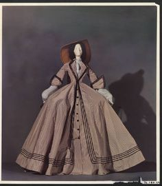 1858 Doll [Two centuries of French fashion]. The Metropolitan Museum of Art, New York. Costume Institute (b17685059) #fashion