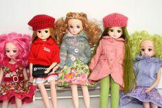 beautiful licca dolls @ Flckr by pippaandpom_Blythe