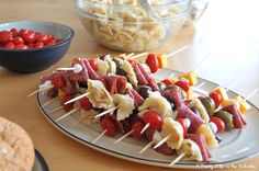 Skewerlicious! Antipasto Skewers - A Pretty Life In The Suburbs