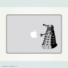 Doctor Who Dalek Decal. Stick it to your laptop, PC, iPad, car, house or pretty much anything $12.00