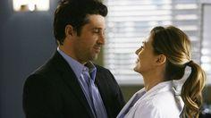 DoctorsDerek Shepherd and Meredith Grey profess their love.